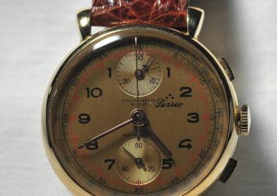 Cronografo meccanico Perseo mod. 170 cassa oro