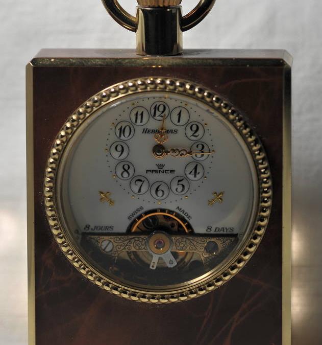 Orologio da tavolo Prince Hebdomas
