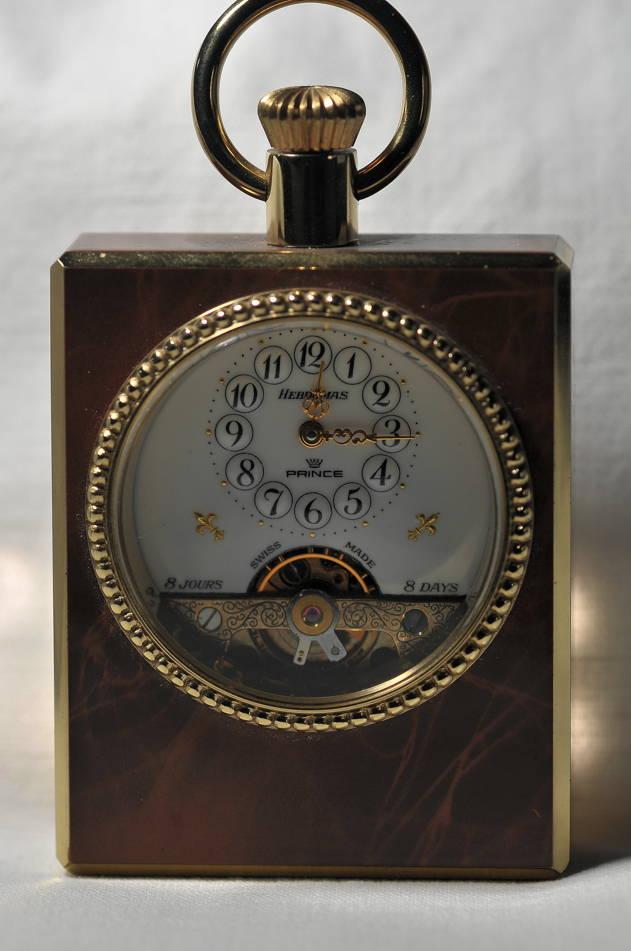 Orologio da tavolo prince hebdomas bibiani orologeria di alta classe orologi d 39 epoca - Orologi d epoca da tavolo ...